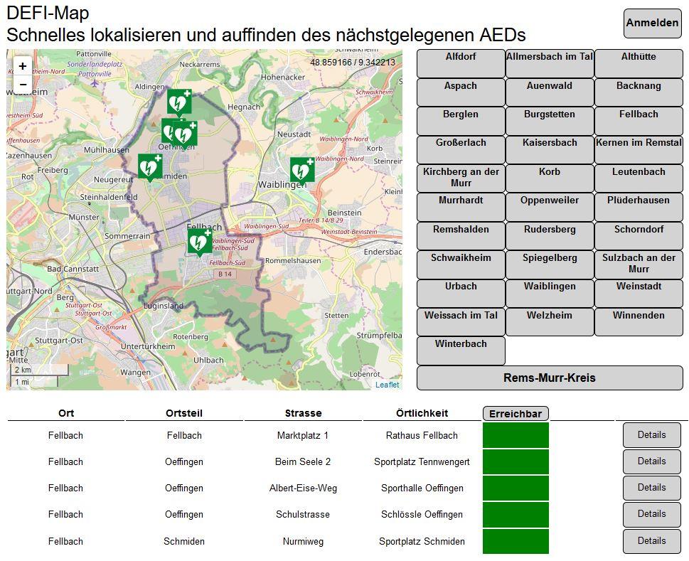 Mappa DAE